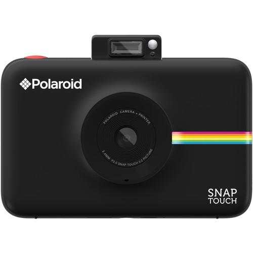 Фотоаппарат моментальной печати Polaroid Snap Touch чёрныйВидеокамеры, очки, экшн-камеры<br>Polaroid Snap Touch — это улучшенная версия своего предшественника Polaroid Snap, оснащенная большим количеством настроек.<br><br>Цвет: Чёрный<br>Материал: Пластик