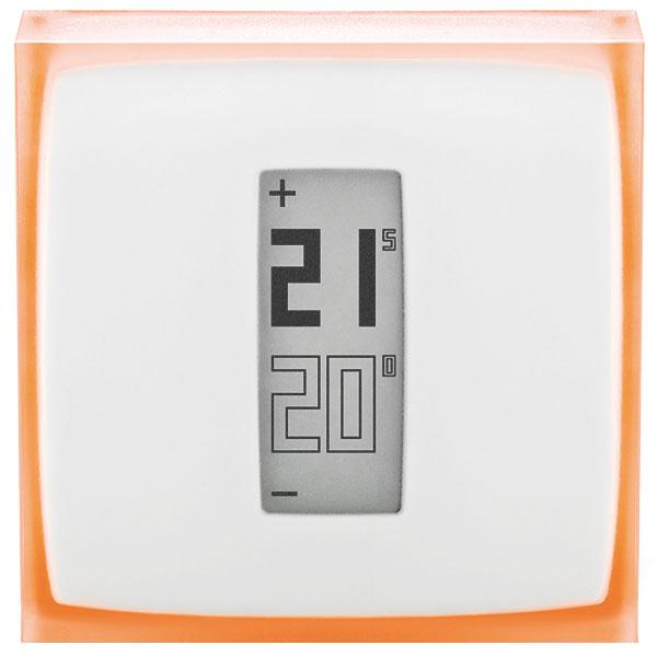 Умный термостат Netatmo Smart Thermostat (NTH01-EN-EU)Климатическая техника для дома<br>Netatmo Smart Thermostat поможет сэкономить деньги, затрачиваемые на отопление!<br><br>Цвет товара: Белый<br>Материал: Пластик, оргстекло