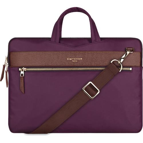 Сумка Cartinoe Tommy Series для MacBook 13 фиолетоваяЧехлы для MacBook Air 13<br>Cartinoe Tommy Series — стильная и удобная сумка для ноутбуков с диагональю до 13 дюймов.<br><br>Цвет товара: Фиолетовый<br>Материал: Нейлон, полиуретан