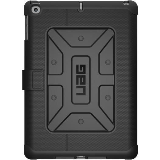 Чехол UAG Metropolis Case для iPad 9.7 (2017/2018) чёрныйЧехлы для iPad 9.7<br>UAG Metropolis Case обладает отличной надежностью и долговечностью!<br><br>Цвет: Чёрный<br>Материал: Композитный пластик, силикон
