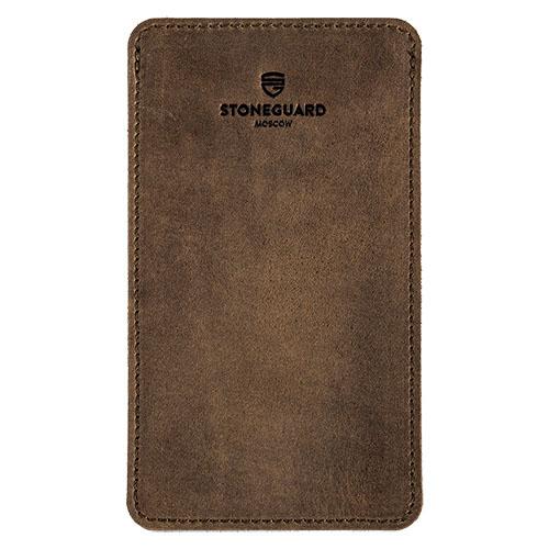 Кожаный чехол Stoneguard для iPhone 6/6s/7 Plus Rust 2017 (511)Чехлы для iPhone 6s PLUS<br>Stoneguard — выбор тех, кто желает всегда идти в ногу со временем!<br><br>Цвет товара: Коричневый<br>Материал: Натуральная кожа, войлок