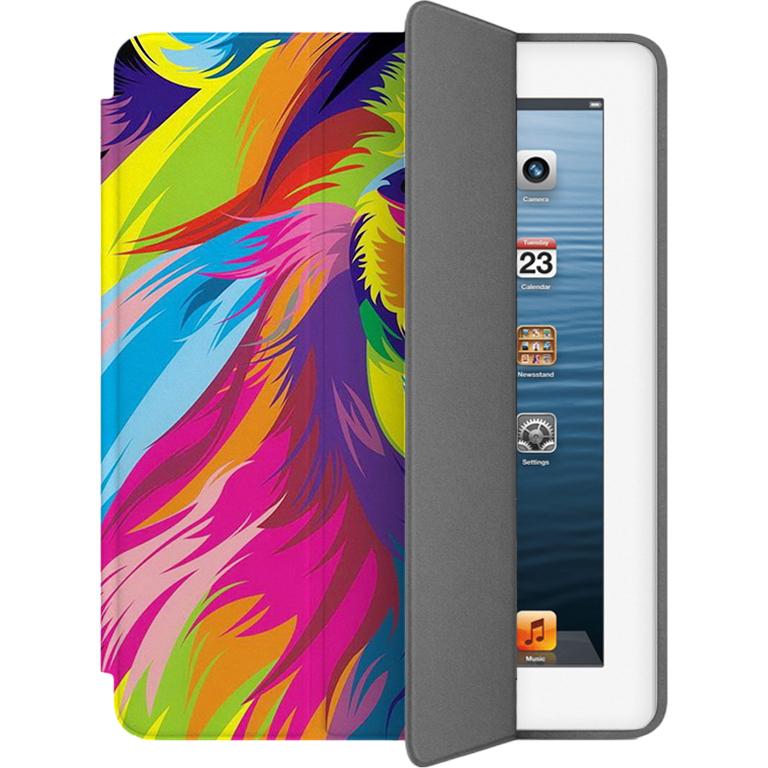 Чехол Muse Smart Case для iPad 2/3/4 ЛевЧехлы для iPad 1/2/3/4 (2010-2013)<br>Чехлы Muse — это индивидуальность, насыщенность красок, ультрасовременные принты и надёжность.<br><br>Цвет: Разноцветный<br>Материал: Поликарбонат, полиуретановая кожа