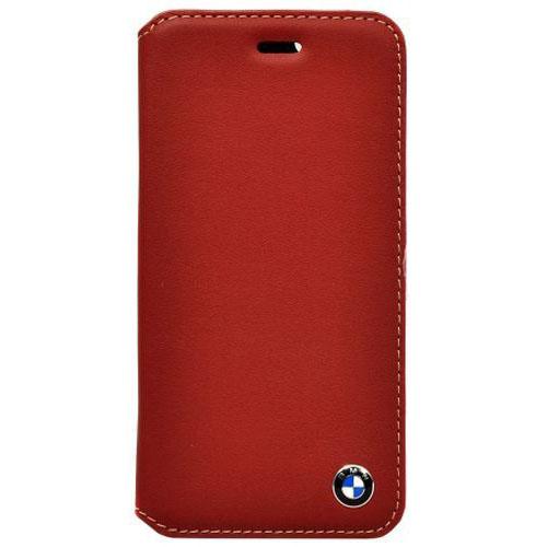 Чехол BMW Bicolor Booktype для iPhone 6 Plus красный/бежевыйЧехлы для iPhone 6s PLUS<br>Чехол BMW iPhone 6+ Bicolor Booktype Red/Beige<br><br>Цвет товара: Красный<br>Материал: Натуральная кожа