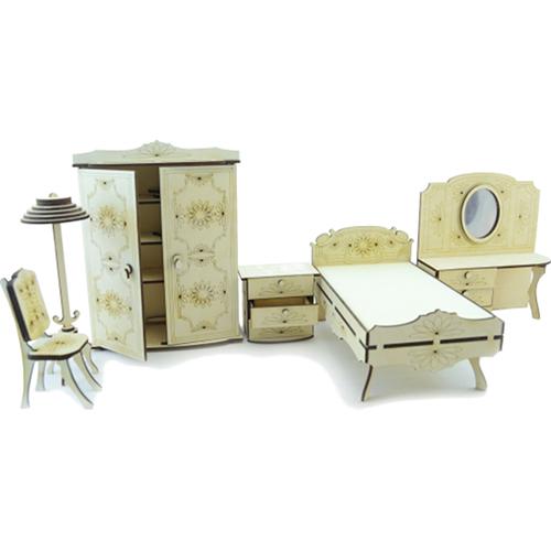 Конструктор 3D Lemmo деревянный Набор мебели «Спальня»3D пазлы, конструкторы, головоломки<br>Конструктор Lemmo 3D деревянный, подвижный - Набор мебели спальня<br><br>Цвет товара: Бежевый<br>Материал: Натуральное дерево