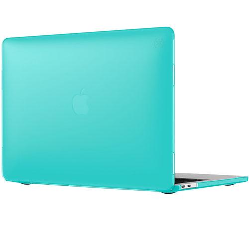 Чехол Speck SmartShell Case для MacBook Pro 13 Touch Bar (new 2016) бирюзовыйЧехлы для MacBook Pro 13 Touch Bar 2016<br>Speck SmartShell Case защитит ноутбук от царапин и более серьёзных повреждений.<br><br>Цвет товара: Бирюзовый<br>Материал: Поликабонат