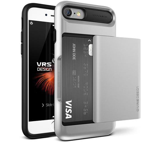 Чехол Verus Damda Glide для iPhone 7 (Айфон 7) серебристый (VRIP7-DGLSS)Чехлы для iPhone 7<br>Чехол Verus для iPhone 7  Damda Glide, серебристый (904608)<br><br>Цвет товара: Серебристый<br>Материал: Поликарбонат