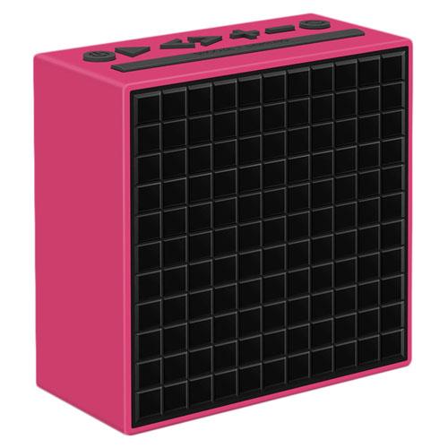 Акустическая система Divoom TimeBox розоваяКолонки и акустика<br>Divoom TimeBox - это не просто акустика, это интеллектуальные музыкальные часы с огромным набором функций.<br><br>Цвет товара: Розовый<br>Материал: Пластик
