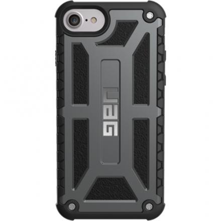 Чехол UAG Monarch Series Case для iPhone 6/6s/7 графитовыйЧехлы для iPhone 6/6s<br>Чехлы от компании Urban Armor Gear разработаны и спроектированы таким образом, чтобы обеспечить максимальную защиту вашему смартфону, при этом со...<br><br>Цвет товара: Серый<br>Материал: Пластик