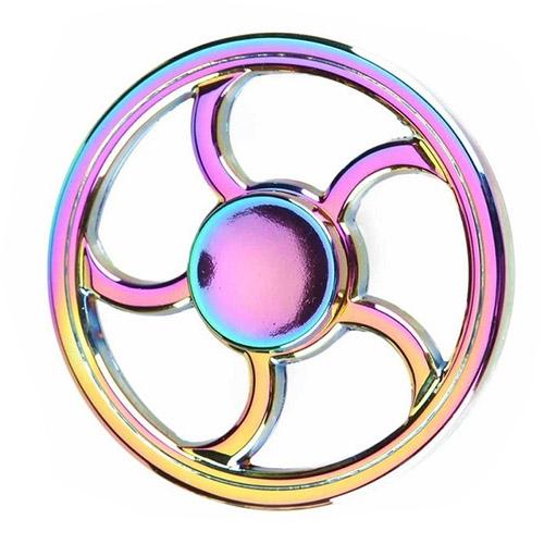Спиннер Fidget Glory Rainbow Series Колесо SP4544Игрушки-антистресс<br>Благодаря покрытию «хамелеон» спиннер Fidget Glory захватывает внимание с первой секунды!<br><br>Цвет товара: Разноцветный<br>Материал: Металл