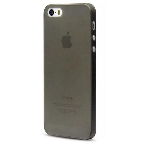 Чехол Crystal Case для iPhone 5/5S/SE чёрныйЧехлы для iPhone 5s/SE<br>Crystal Case - тонкий и надёжный чехол!<br><br>Цвет товара: Чёрный<br>Материал: Пластик