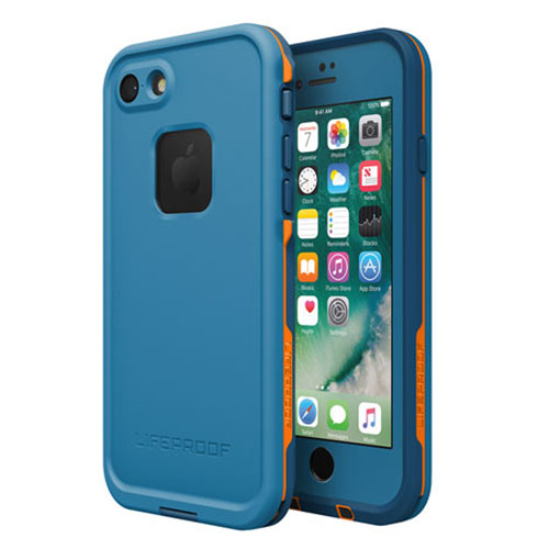 Чехол Lifeproof Fre для iPhone 7 синийЧехлы для iPhone 7/7 Plus<br>Чехол надежно защищает iPhone 7 от влаги, грязи и снега!<br><br>Цвет товара: Синий