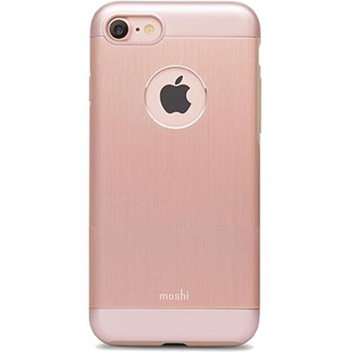 Чехол Moshi Armour для iPhone 7, iPhone 8 Golden Rose розовое золотоЧехлы для iPhone 7<br>Moshi Armour имеет необходимые вырезы под функциональные элементы и полностью соответствует всем требованиям эффективной эксплуатации Вашего ...<br><br>Цвет товара: Розовое золото<br>Материал: Металл, поликарбонат