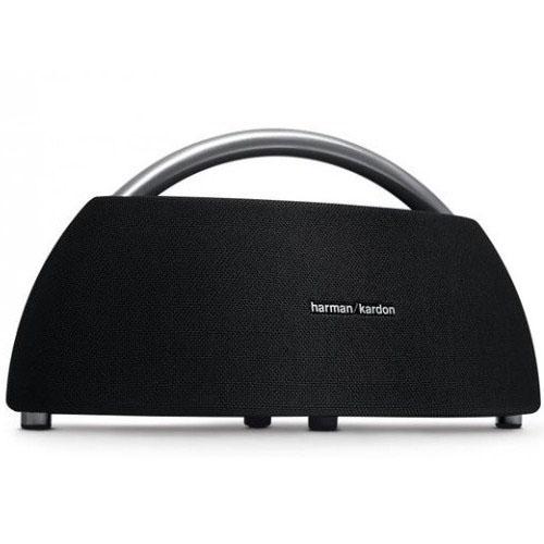 Портативная Bluetooth-акустика Harman Kardon Go + Play Wireless Mini чёрнаяКолонки и акустика<br>Акустика Harman GO+ PLAY Wireless MINI черная<br><br>Цвет товара: Чёрный<br>Материал: Пластик, металл
