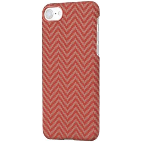 Чехол PITAKA MagCase для iPhone 7/8 красный карбонЧехлы для iPhone 7<br>PITAKA MagCase — воплощение стильного дизайна, феноменальной прочности и впечатляющей функциональности.<br><br>Цвет: Красный<br>Материал: Арамид<br>Модификация: iPhone 4.7