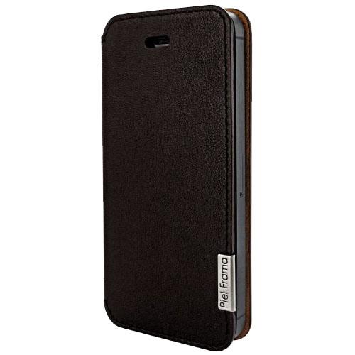 Чехол Piel Frama Slim для iPhone 5 коричневыйЧехлы для iPhone 5s/SE<br>Piel Frama Slim окутает смартфон аурой элегантности и роскоши.<br><br>Цвет товара: Зелёный<br>Материал: Кожа, пластик