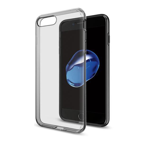 Чехол Spigen Liquid Crystal для iPhone 7 Plus (Айфон 7 Плюс) дымно-кристальный (SGP-043CS20855)Чехлы для iPhone 7 Plus<br>Spigen Liquid Crystal создан для тех, кого привлекает минимализм и оригинальность форм.<br><br>Цвет товара: Чёрный<br>Материал: Термопластичный полиуретан