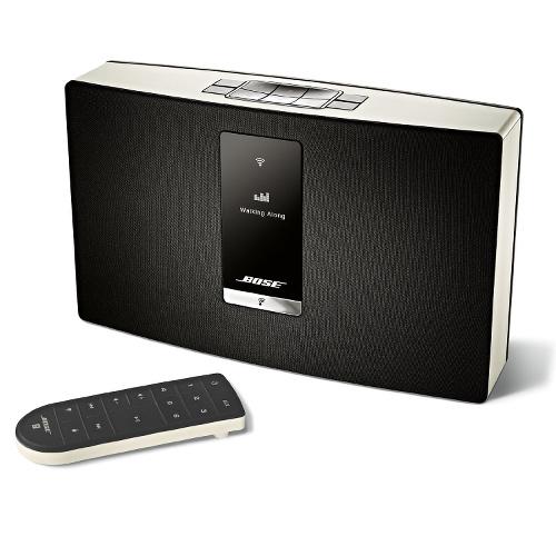 Беспроводная акустическая система Bose SoundTouch Portable Series II Wi-Fi белаяКолонки и акустика<br>С Bose вселенная потоковой музыки безгранична!<br><br>Цвет товара: Белый<br>Материал: Пластик