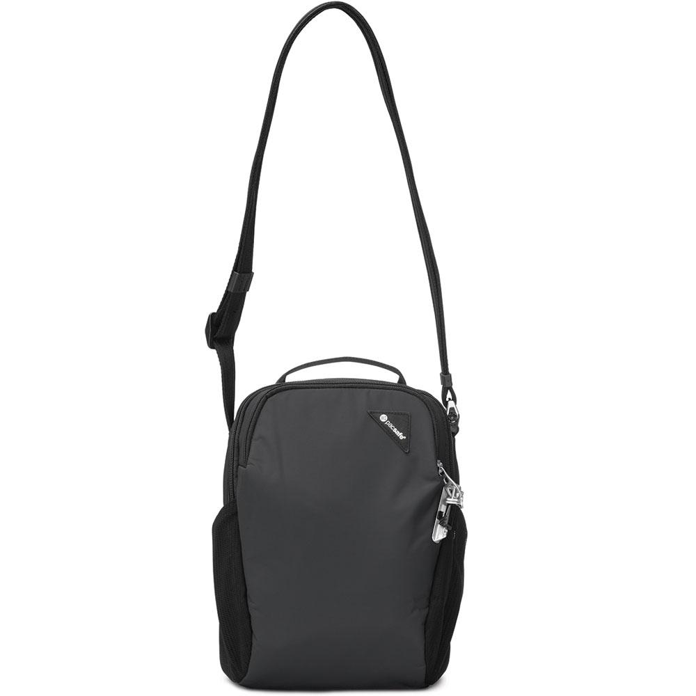 Сумка PacSafe Vibe 200 чёрнаяСумки для iPad<br>PacSafe Vibe 200 - очень удобная сумка для путешествий и прогулок.<br><br>Цвет товара: Чёрный<br>Материал: Текстиль, нержавеющая сталь, пластик