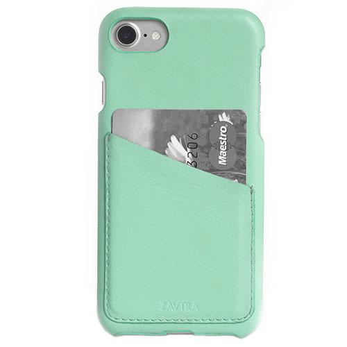 Чехол ZAVTRA для iPhone 7 (Айфон 7) мятныйЧехлы для iPhone 7<br>Чехол-бампер ZAVTRA для iPhone 7 выполнен из кожи лучшей выделки.<br><br>Цвет товара: Мятный<br>Материал: Пластик, натуральная кожа