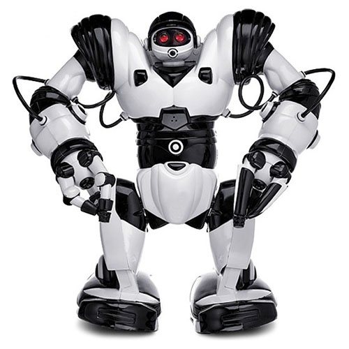 Робот WowWee Robosapien X белый с чёрнымРоботы<br>Robosapien X - сложное сплетение высоких технологий и личности.<br><br>Цвет товара: Белый