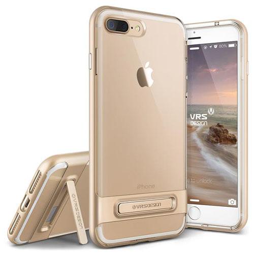Чехол Verus Crystal Bumper для iPhone 7 Plus (Айфон 7 Плюс) золотистый (VRIP7P-CRBGD)Чехлы для iPhone 7 Plus<br>Чехол Verus для iPhone 7 Plus Crystal Bumper, шампань (904631)<br><br>Цвет товара: Золотой<br>Материал: Поликарбонат, полиуретан