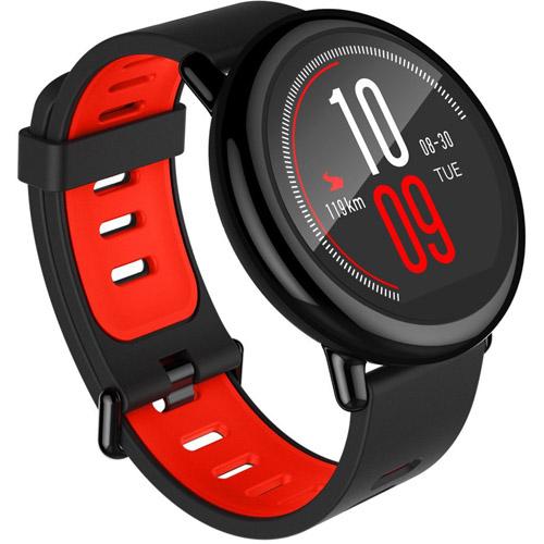 Умные часы Xiaomi Amazfit Pace Sports Watch чёрныеУмные часы<br>Умные часы Amazfit Pace GPS Running Watch - черные<br><br>Цвет товара: Чёрный<br>Материал: Пластик, керамика