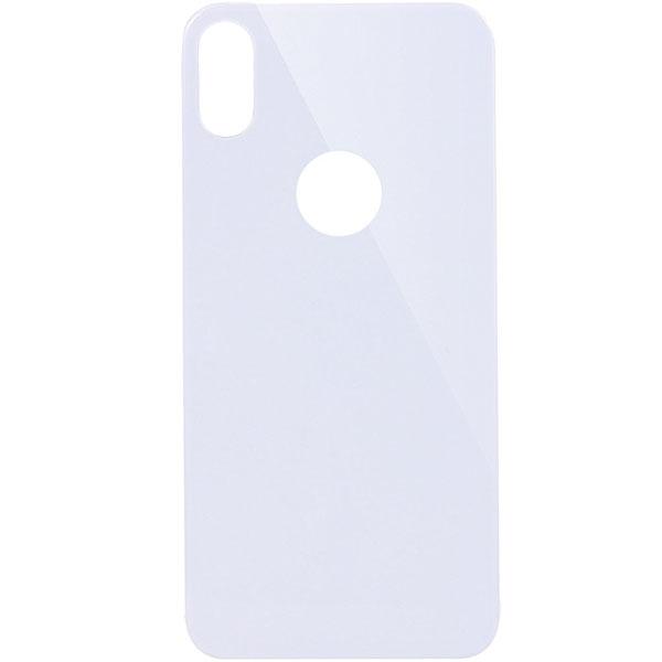 Заднее защитное стекло Mocolo для iPhone X серебристоеСтекла/Пленки на смартфоны<br>Mocolo отлично подходит для повседневного использования!<br><br>Цвет товара: Серебристый<br>Материал: Закалённое стекло