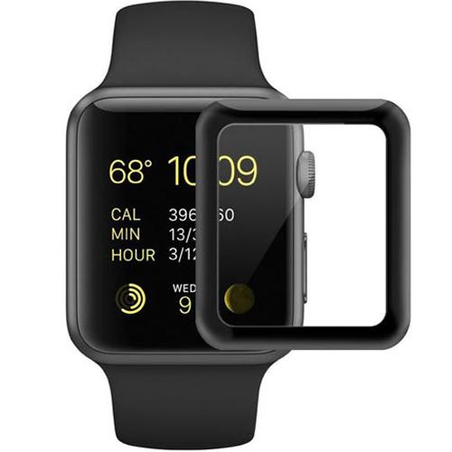 Защитное стекло COTEetCI 4D Full Screen Protector для Apple Watch 42 ммЗащитные пленки Apple Watch<br>Необычайно прочное защитное стекло для Apple Watch!<br><br>Цвет товара: Прозрачный<br>Материал: Стекло<br>Модификация: 42 мм