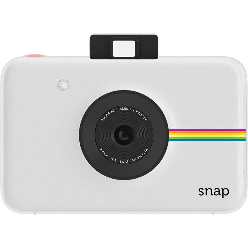 Фотоаппарат моментальной печати Polaroid Snap Touch белыйВидеокамеры, очки, экшн-камеры<br>Polaroid Snap Touch — это улучшенная версия своего предшественника Polaroid Snap, оснащенная большим количеством настроек.<br><br>Цвет: Белый<br>Материал: Пластик