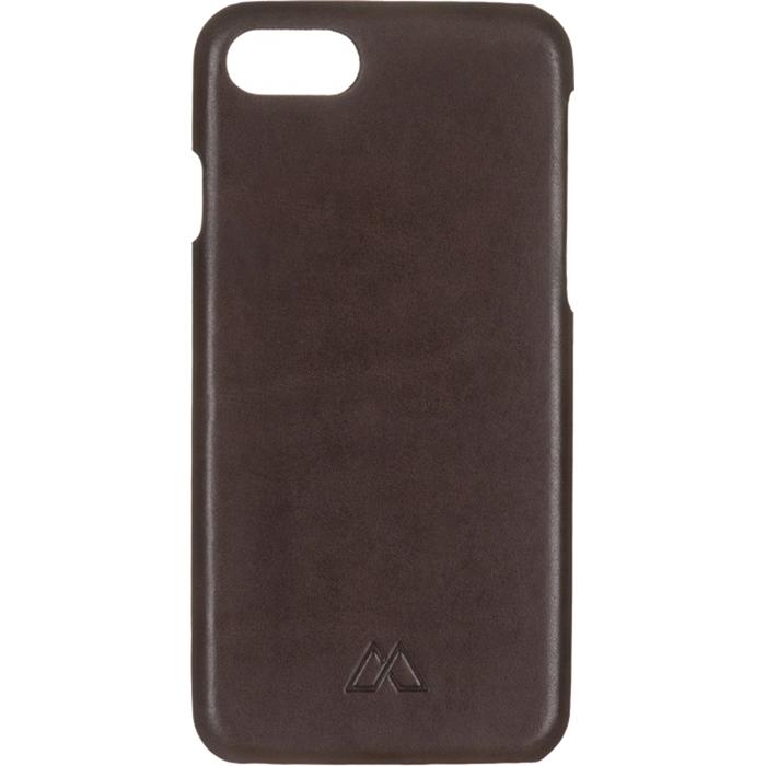 Чехол Moodz Soft Leather Hard для iPhone 7 (Айфон 7) Chocolate тёмно-коричневый
