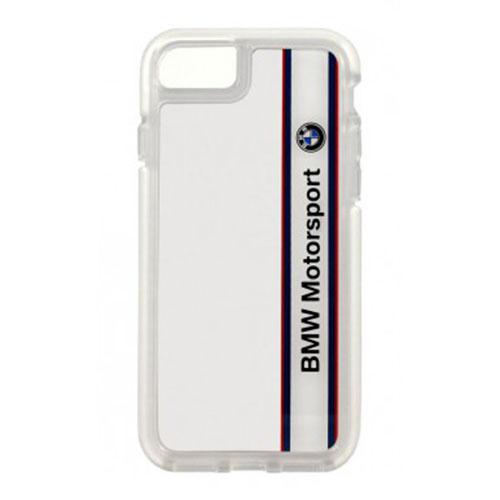 Чехол BMW Motorsport Shockproof Hard PC для iPhone 5 / iPhone 5S / iPhone SE белыйЧехлы для iPhone 5s/SE<br>BMW Motorsport Shockproof Hard PC не сможет остаться незамеченным.<br><br>Цвет товара: Белый<br>Материал: Поликарбонат