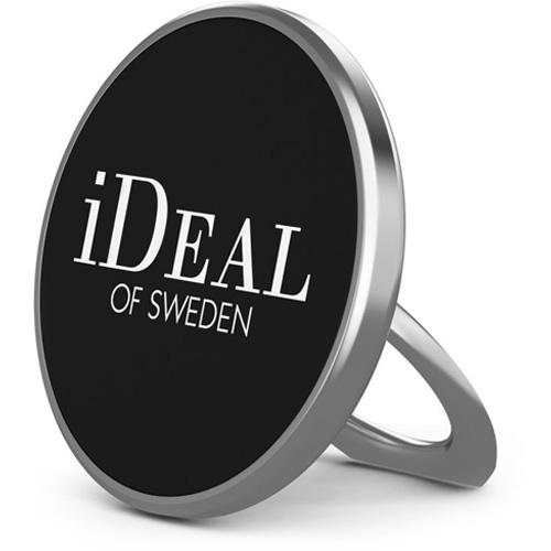 Держатель-кольцо iDeal Magnetic Ring Mount серебристыйДокстанции/подставки<br>Благодаря подставке-кольцу iDeal вы можете быть уверены, что смартфон не выскользнет из рук.<br><br>Цвет: Серебристый<br>Материал: Алюминий, пластик