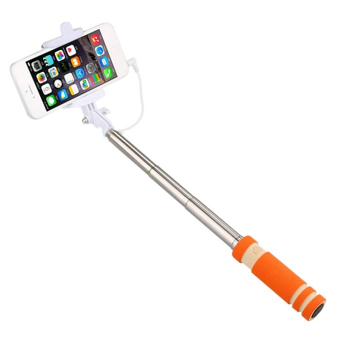 Монопод Smartbuy MINNIE (SBMO-6010)/100 оранжевыйМоноподы<br>Со Smartbuy MINNIE вы сможете сделать сногсшибательные снимки!<br><br>Цвет товара: Оранжевый<br>Материал: Металл, пластик, резина