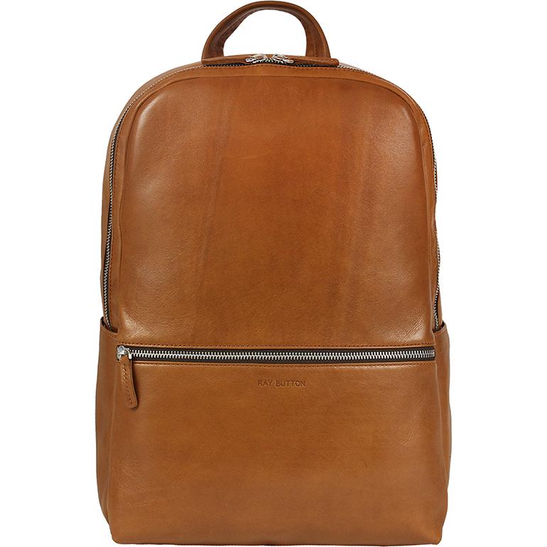 Рюкзак Ray Button Hastings Tan Only для MacBook 13 коричневый (701C55)Рюкзаки<br>Ray Button Hastings - это стильный и удобный аксессуар на каждый день.<br><br>Цвет товара: Коричневый<br>Материал: Натуральная кожа