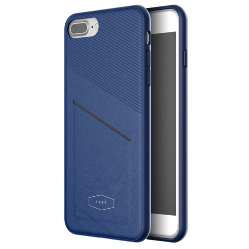 Чехол LAB.C Pocket Case для iPhone 7 и 8 Plus синийЧехлы для iPhone 7 Plus<br>Чехол LAB.C Pocket Case для iPhone 7 Plus - синий<br><br>Цвет товара: Синий