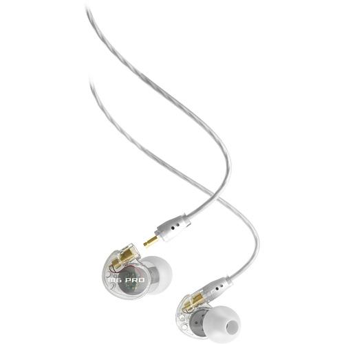 Наушники MEE Audio M6 PRO прозрачные (EP-M6PRO-CL-MEE)Внутриканальные наушники<br>Наушники MEE Audio M6 PRO позволят вам погрузиться в мир любимой музыки!<br><br>Цвет товара: Прозрачный<br>Материал: Пластик, силикон, металл