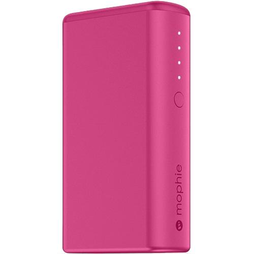 Внешний аккумулятор Mophie Power Boost 5200 мАч розовыйДополнительные и внешние аккумуляторы<br>Внешний аккумулятор Mophie Power Boost позволяет удивительно быстро и без риска заряжать ваши гаджеты.<br><br>Цвет товара: Розовый<br>Материал: Металл, пластик, силикон