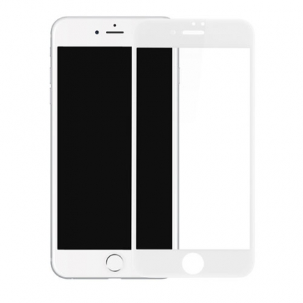 Защитное стекло Diamond 3D Tempered Glass для iPhone 6/6s белоеСтекла/Пленки на смартфоны<br><br><br>Цвет товара: Белый<br>Материал: Стекло