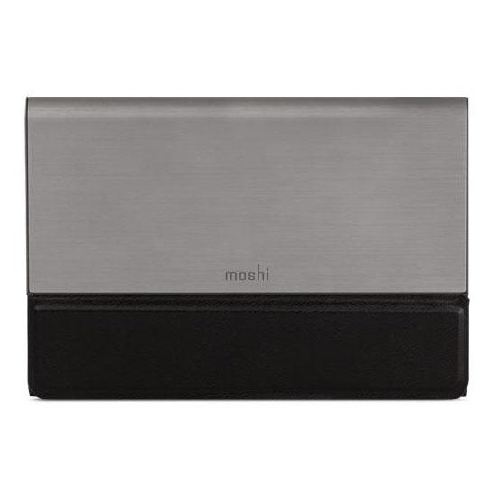 Внешний аккумулятор Moshi IonBank 5K USB-C серыйВнешние аккумуляторы<br>Moshi IonBank 5K USB-C — безупречный аксессуар для ваших любимых гаджетов!<br><br>Цвет товара: Серый<br>Материал: Металл, кожа