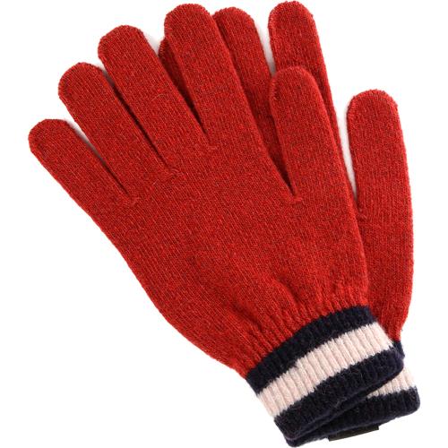 Перчатки iGloves (v23) для iPhone/iPod/iPad/etc красные с синими полосками (Размер M) от iCases