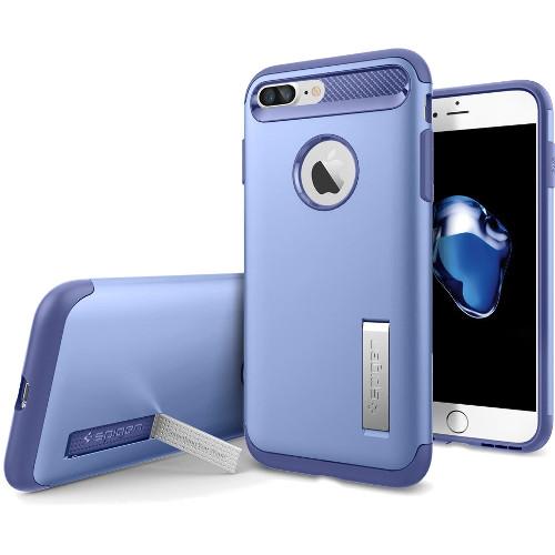 Чехол Spigen Slim Armor для iPhone 7 Plus фиолетовый (SGP-043CS20312)Чехлы для iPhone 7 Plus<br>Spigen Slim Armor — это тончайшая двухслойная защита для вашего Айфон.<br><br>Цвет товара: Фиолетовый<br>Материал: Поликарбонат, полиуретан