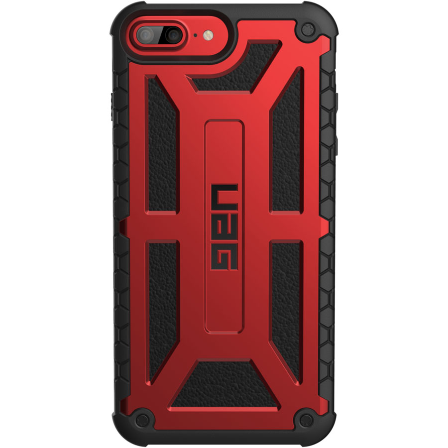 Чехол UAG Monarch Series Case для iPhone 6 Plus/6s Plus/7 Plus/8 Plus красныйЧехлы для iPhone 6/6s Plus<br>Чехлы от компании Urban Armor Gear разработаны и спроектированы таким образом, чтобы обеспечить максимальную защиту вашему смартфону, при этом со...<br><br>Цвет товара: Красный<br>Материал: Пластик