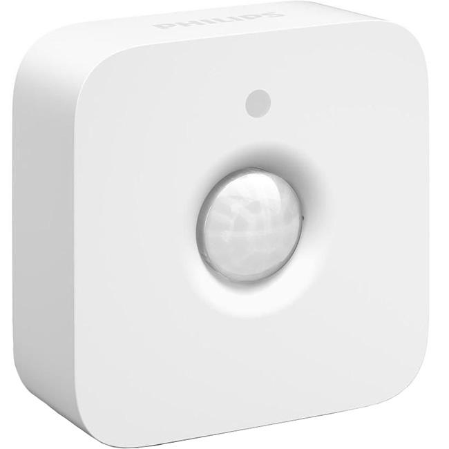 Датчик движения Philips Hue Motion sensor для умных лампУмные лампы<br>Свет будет включаться, как только вы пройдёте мимо.<br><br>Цвет: Белый<br>Материал: Пластик