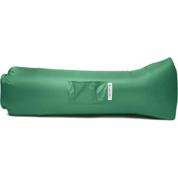 Надувной диван Биван 2.0 зелёныйКемпинговая мебель<br>Биван 2.0 — новая версия легендарного надувного дивана!<br><br>Цвет товара: Зелёный<br>Материал: Ткань с водоотталкивающей пропиткой, парашютный шёлк
