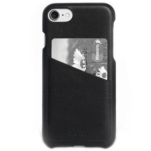 Чехол ZAVTRA для iPhone 7 (Айфон 7) чёрныйЧехлы для iPhone 7/7 Plus<br>Чехол-бампер ZAVTRA для iPhone 7 выполнен из кожи лучшей выделки.<br><br>Цвет товара: Чёрный<br>Материал: Пластик, натуральная кожа