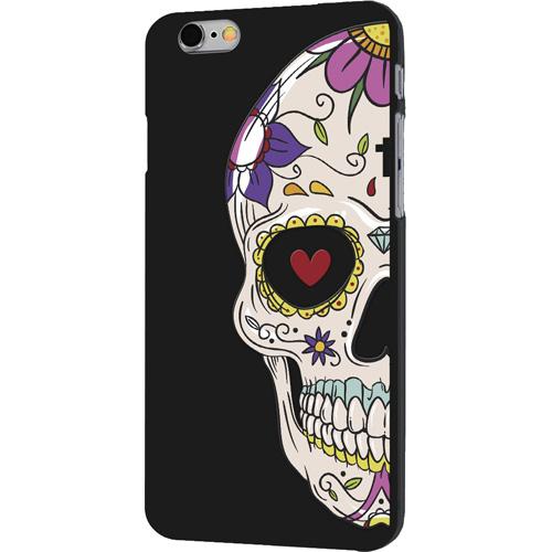 Чехол iPapai «Череп» (Мексиканский) для iPhone 7Чехлы для iPhone 7<br>Чехол iPapai «Череп» для тех, кто обладает не только хорошим вкусом и оригинальностью, но и ценит безопасность своего гаджета.<br><br>Цвет товара: Чёрный<br>Материал: Силикон