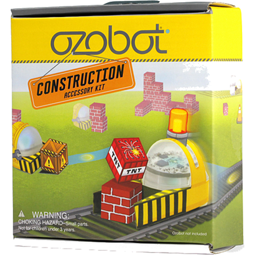 Набор аксессуаров Ozobot Construction Set (OZO-630402-00)Роботы<br>Ozobot Construction Set - это набор аксессуаров для робота Ozobot Bit.<br><br>Цвет товара: Разноцветный<br>Материал: Бумага, пластик