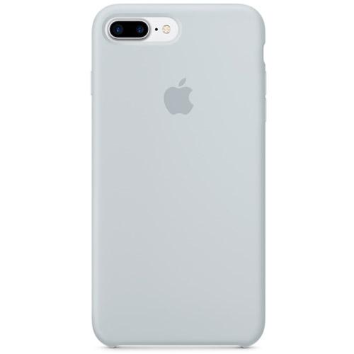 Силиконовый чехол Apple Silicone Case для iPhone 7 Plus (Mist Blue) дымчато-голубойЧехлы для iPhone 7 Plus<br>Ни один чехол в мире не сочетается с мощным Айфон 7 Плюс лучше, чем оригинальный Apple Case.<br><br>Цвет товара: Голубой<br>Материал: Силикон