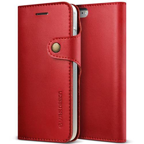 Чехол Verus Native Diary для iPhone 7 (Айфон 7) красный (VRIP7-NTDRD)Чехлы для iPhone 7/7 Plus<br>Чехол-книжка Verus для iPhone 7 Native Diary, винный (904679)<br><br>Цвет товара: Красный<br>Материал: Кожа, поликарбонат