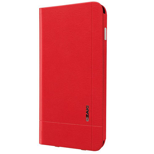 Чехол Ozaki O!coat 0.4 + Pocket Leather Folio для iPhone 6/6s Plus красный